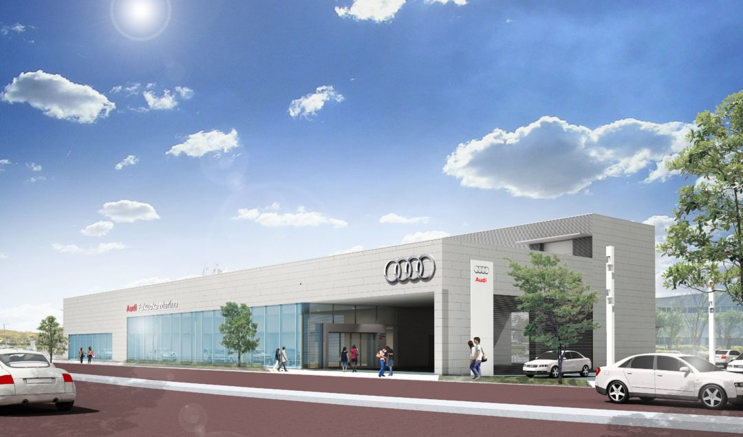 Audi Approved Automobile 福岡マリーナ PreOpen