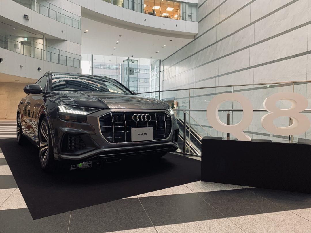 """""""古澤巌×ベルリン・フィルハーモニーヴィルトゥオージ 2019″にAudi車を展示しました。"""